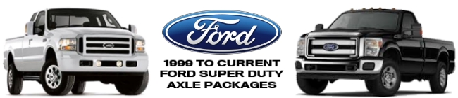 Ford Super Duty Axle Parts