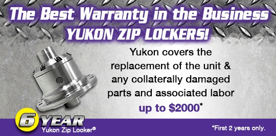 Yukon Zip Locker