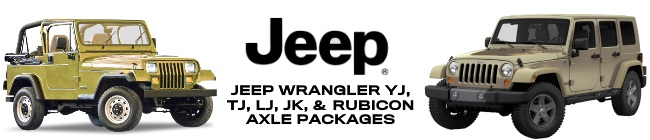 Jeep Wrangler Axle Parts