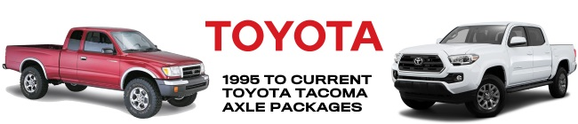 Toyota Tacoma Axle Parts
